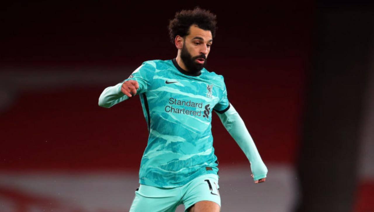 Salah Liverpool record