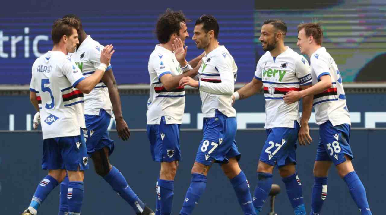Sampdoria Verona formazioni