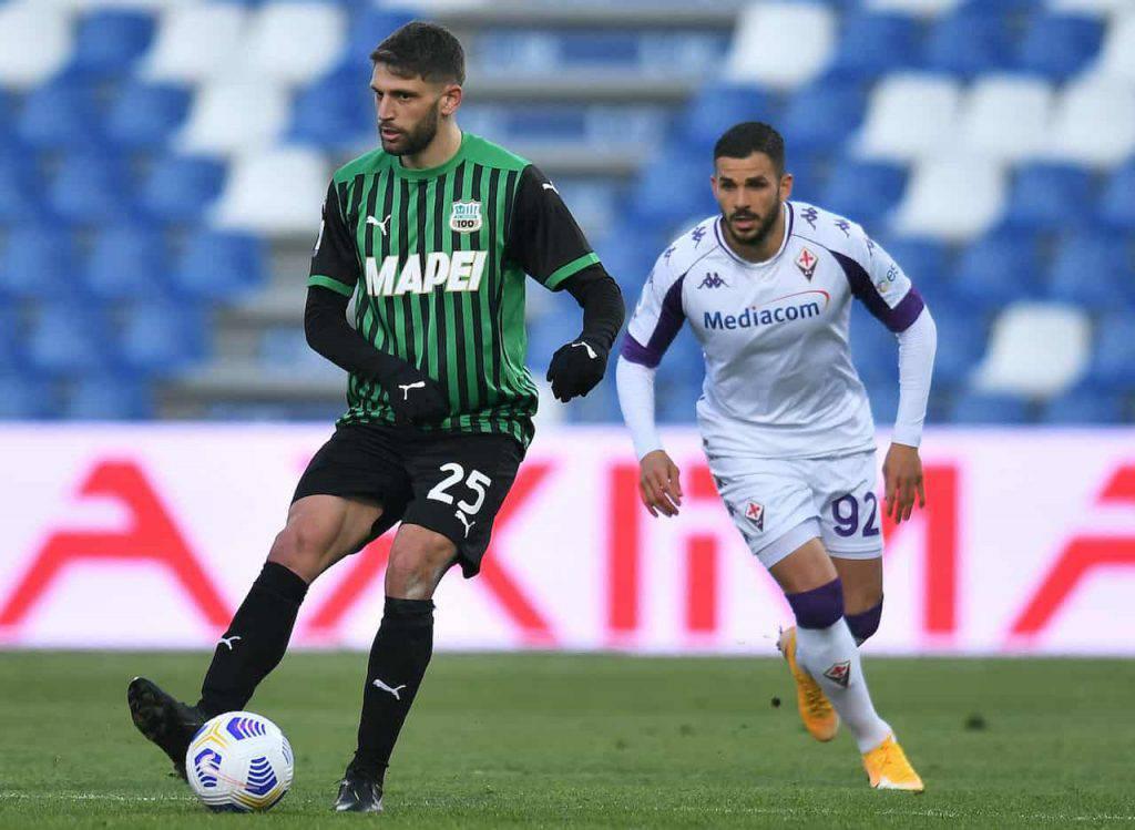Sassuolo Fiorentina Berardi 101 gol in neroverde (Getty Images)