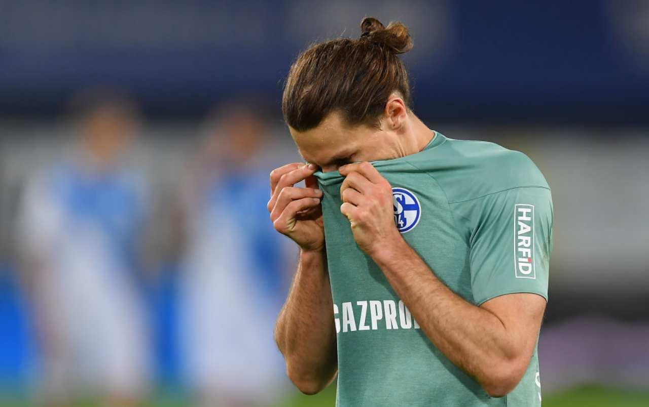 Schalke 04 giocatori aggrediti