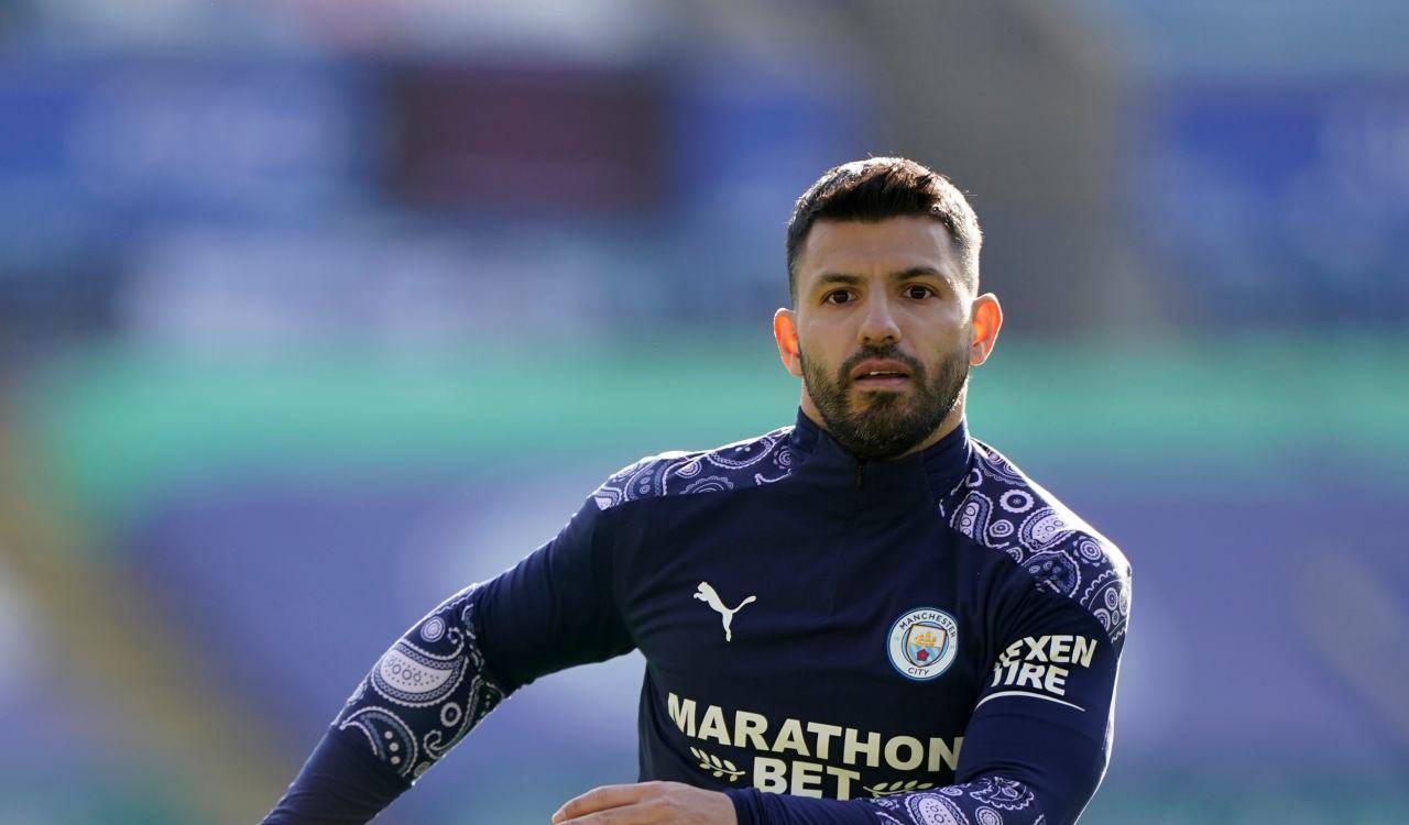Sergio Aguero Tottenham