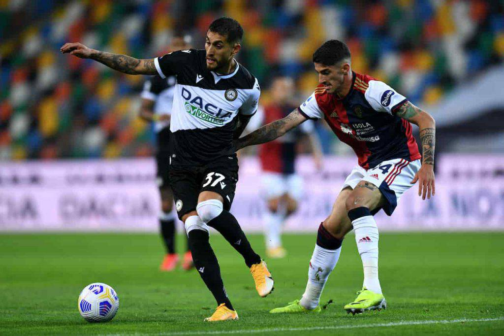 Sintesi Udinese-Cagliari (Getty Images)