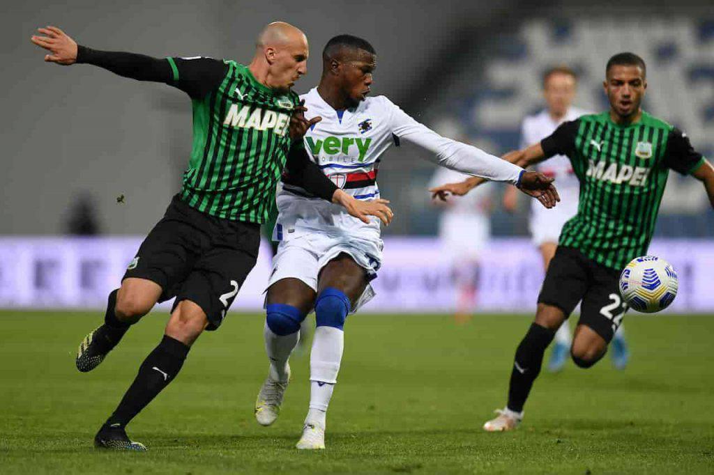 Sintesi Sassuolo Sampdoria (Getty Images)