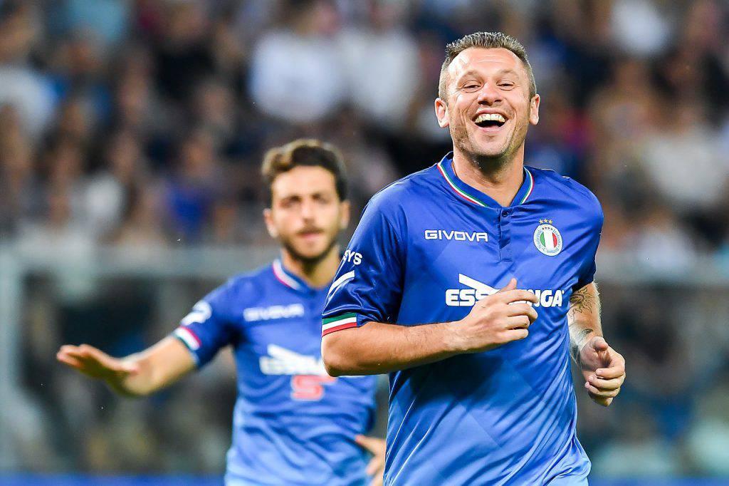 Belgio-Italia Cassano si sbilancia (Getty Images)