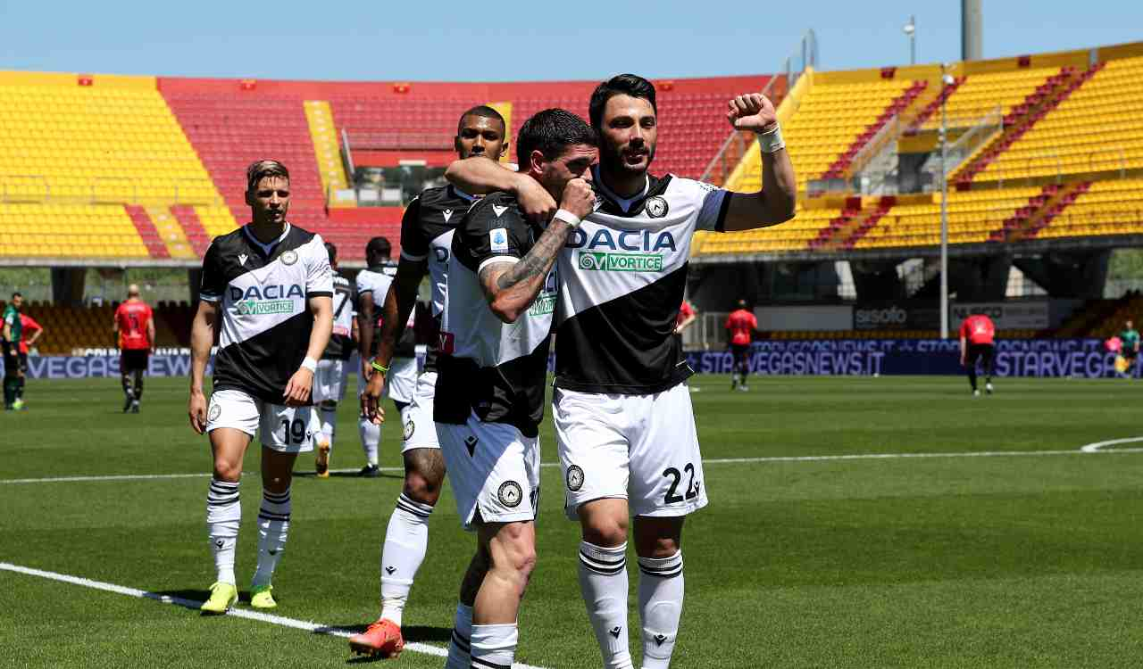 Highlights Benevento Udinese