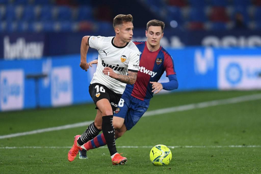 Valencia Real Sociedad formazioni