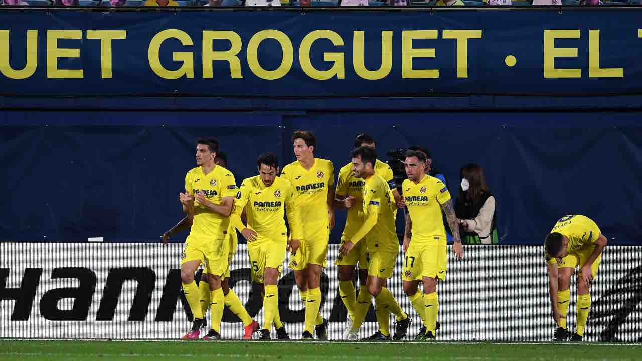 LIVE Villarreal-Arsenal