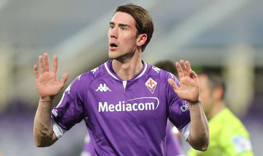 Fiorentina attiva sul mercato, il punto per Vlahovic (Getty Images)