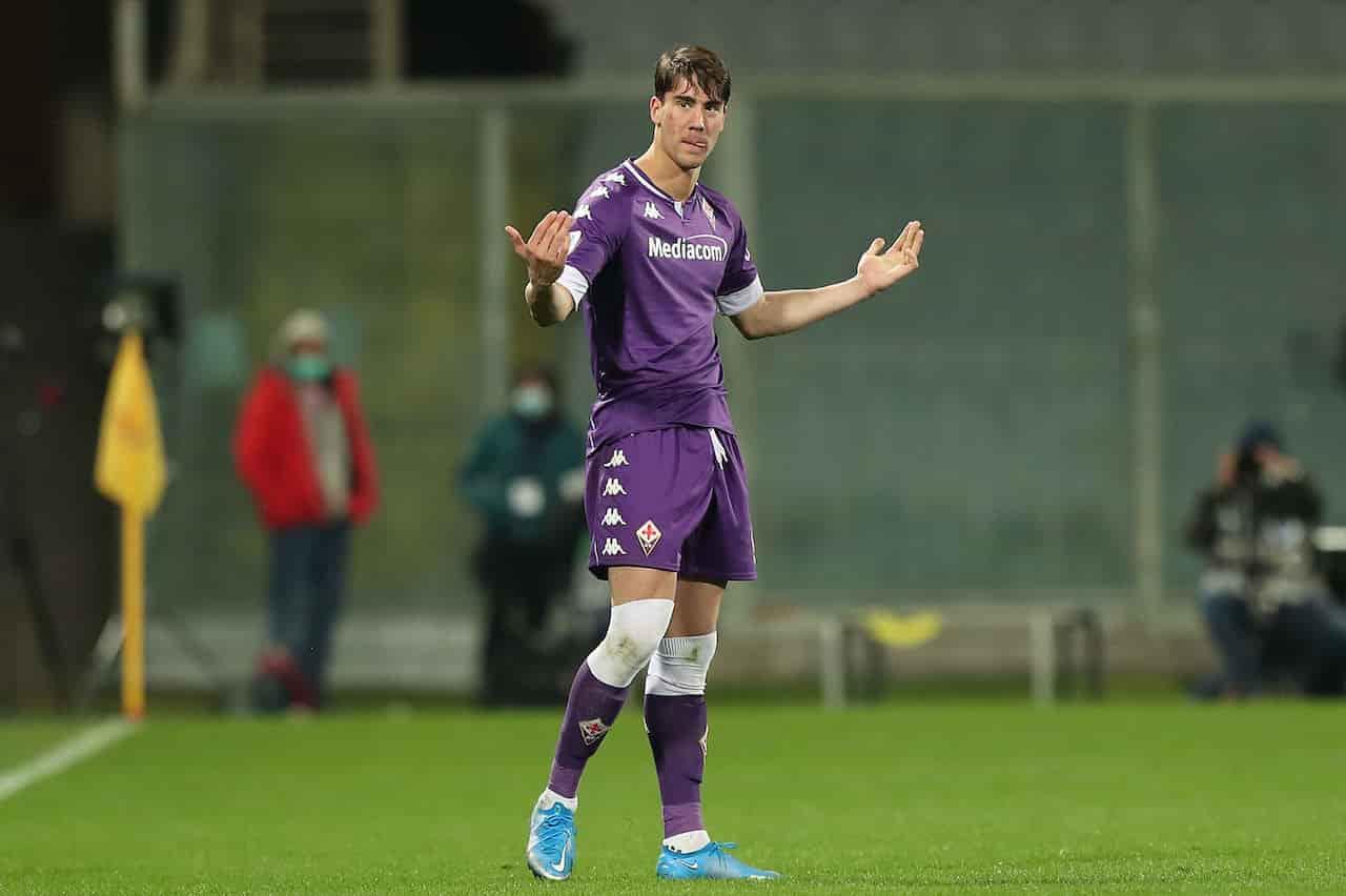 Fiorentina-Juventus, Vlahovic fa il cucchiaio a Szczesny - VIDEO