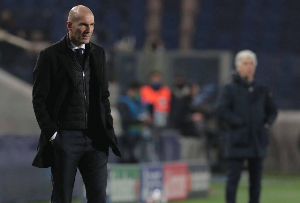 Zidane Atalanta-Real Madrid
