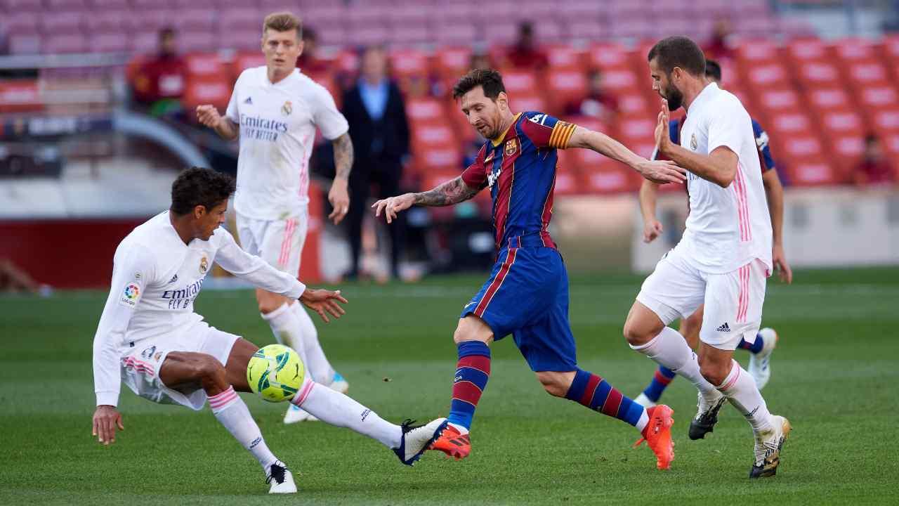 Diretta Real Madcrid Barcellona El Clasico (foto Getty)