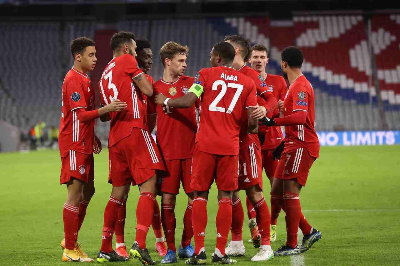 Bayern Monaco Union Berlino formazioni