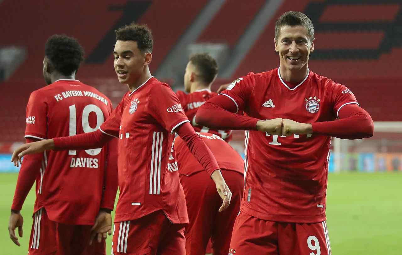 Lipsia Bayern Monaco formazioni