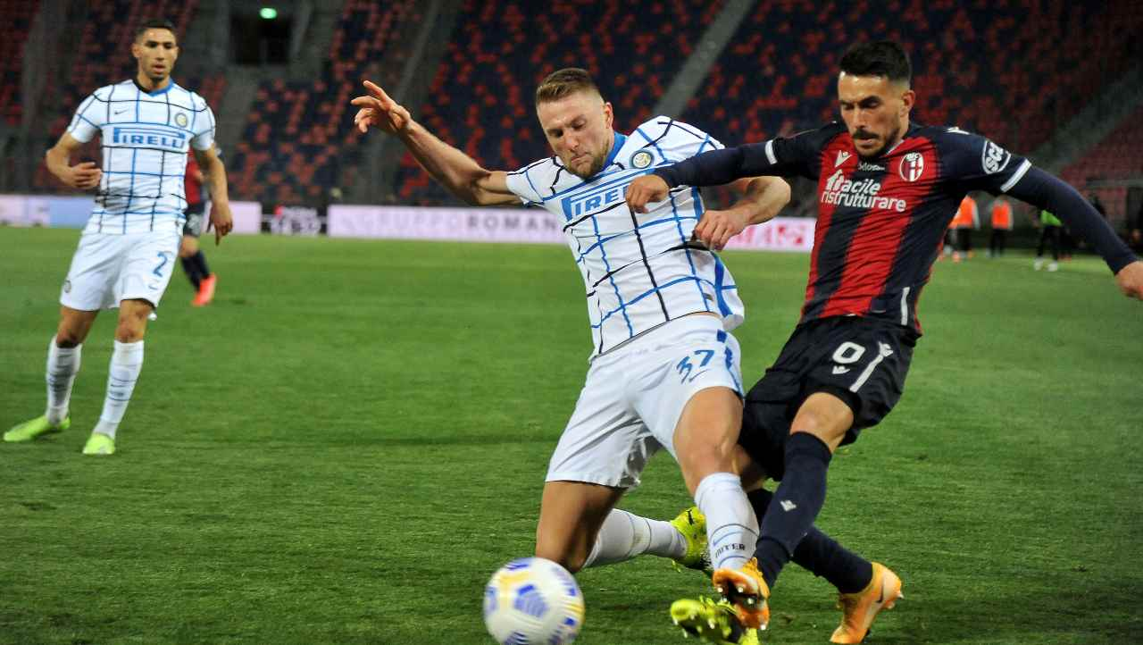 Serie A, highlights Bologna-Inter: gol e sintesi partita - Video