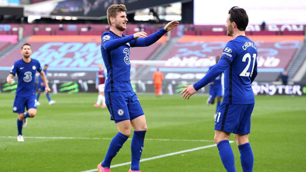 Chelsea, vittoria da primato sul West Ham: Werner fa volare Tuchel