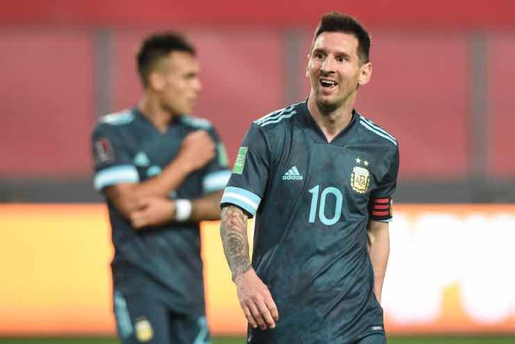 Coppa America vaccini Messi