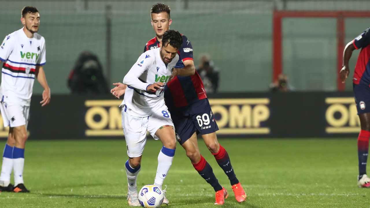 Serie A, highlights Crotone-Sampdoria: gol e sintesi partita - Video