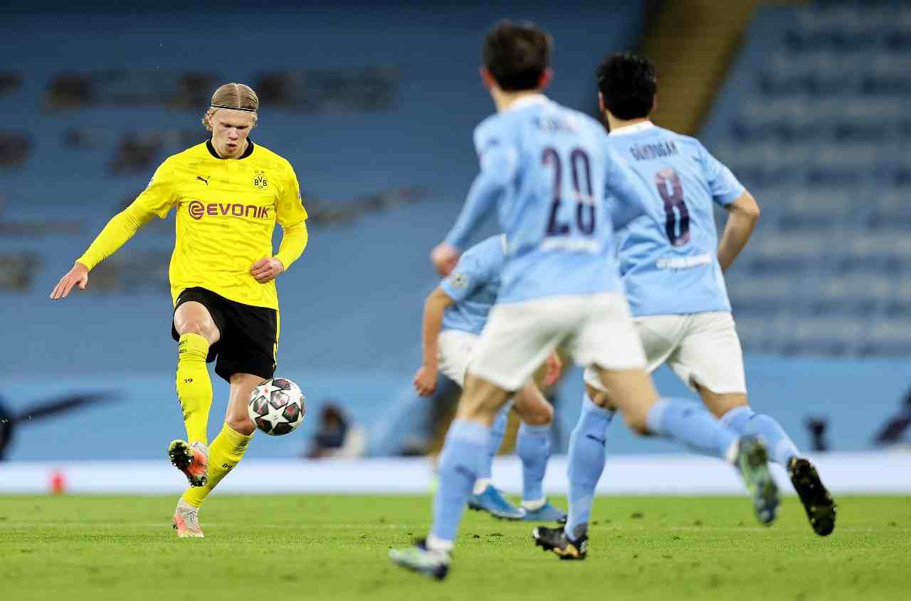 Borussia Dortmund Manchester City formazioni