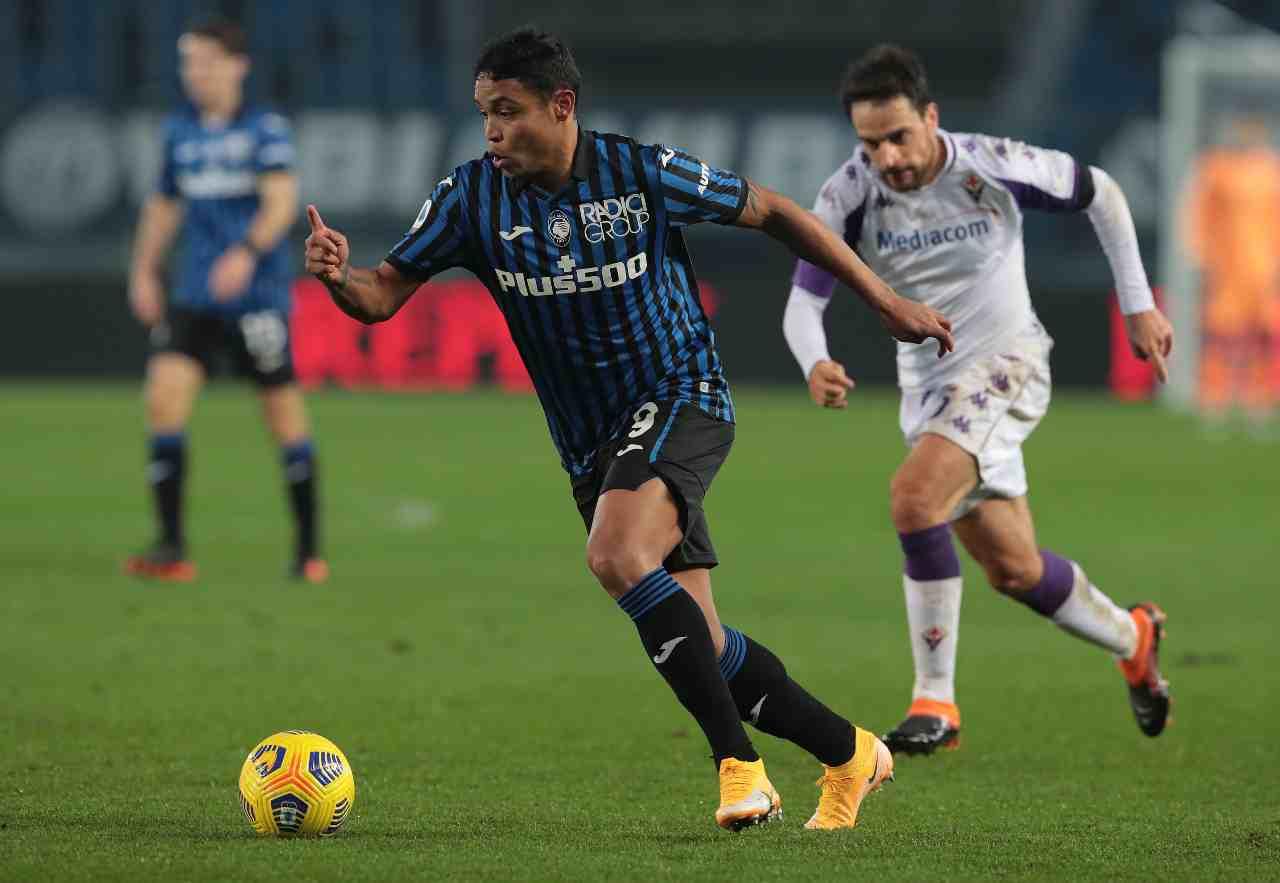 Fiorentina Atalanta formazioni