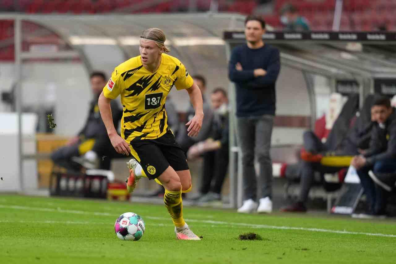 Calciomercato Haaland Borussia Dortmund