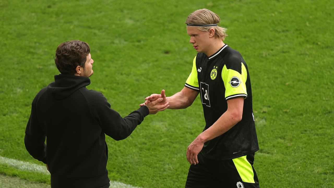 Insaziabile Haaland, battuto un altro record in Bundesliga