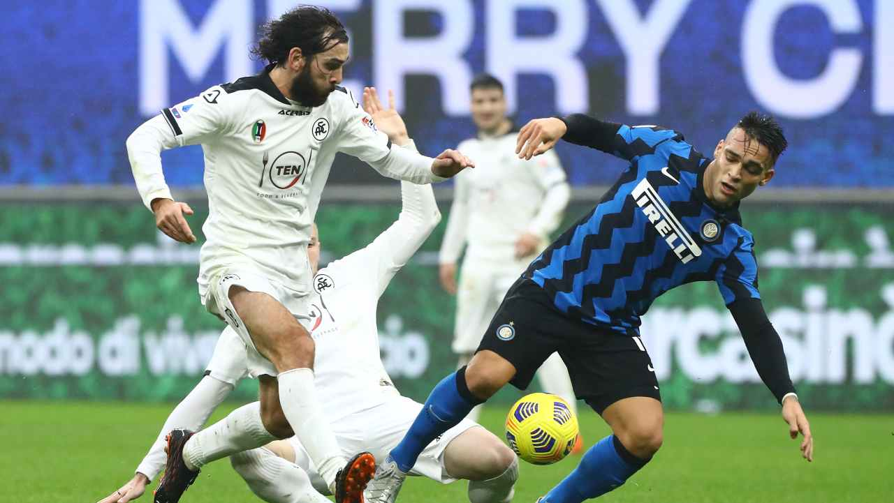 Serie A, Spezia-Inter: probabili formazioni e statistiche