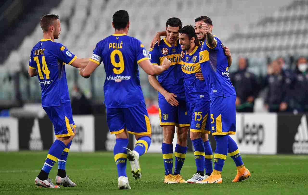 Torino Parma formazioni