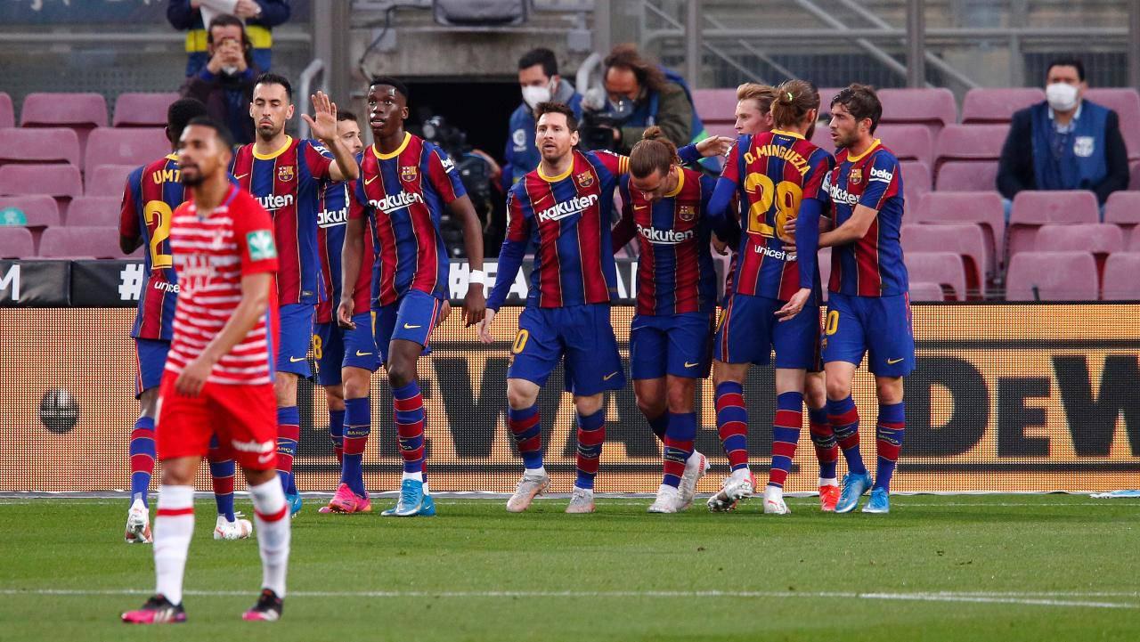 Messi fa 750, gol da record: il Barcellona sogna la Liga