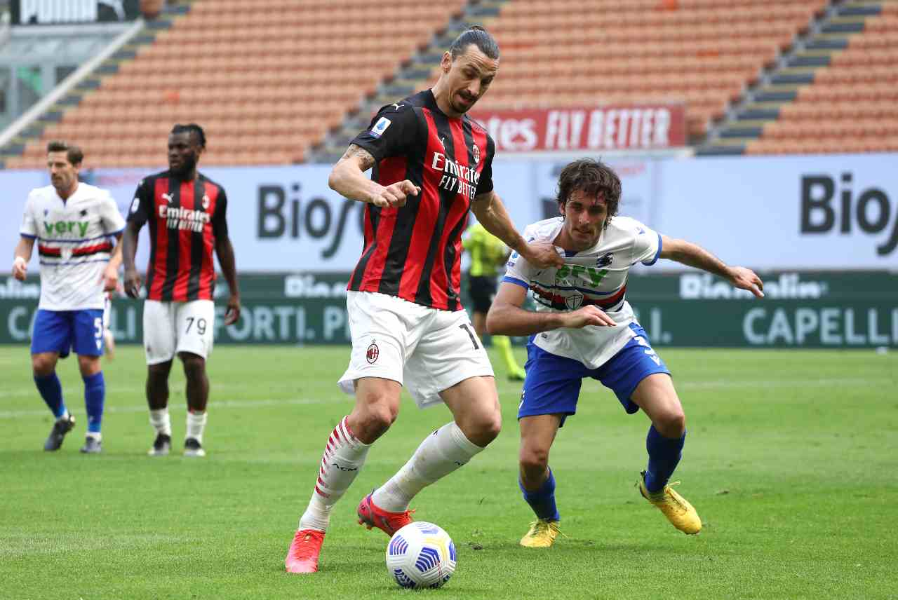 Moviola Milan-Sampdoria
