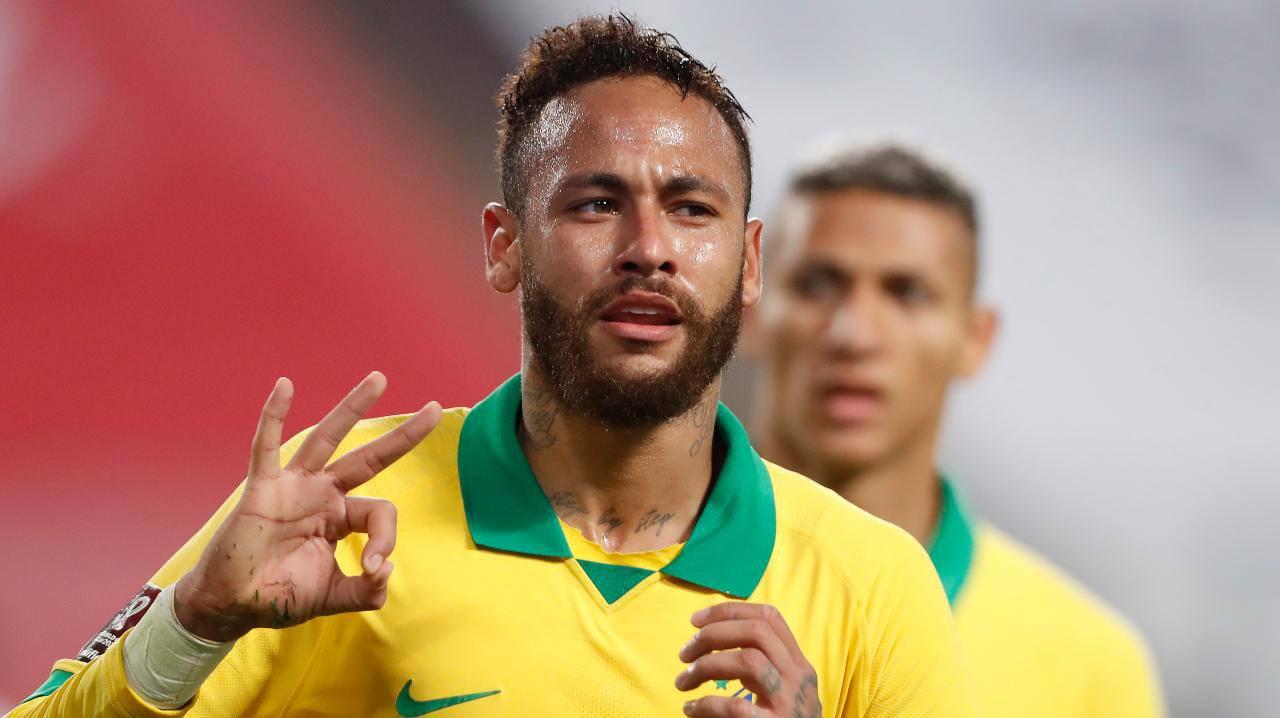 Neymar, obiettivo Olimpiadi: la richiesta del ct del Brasile