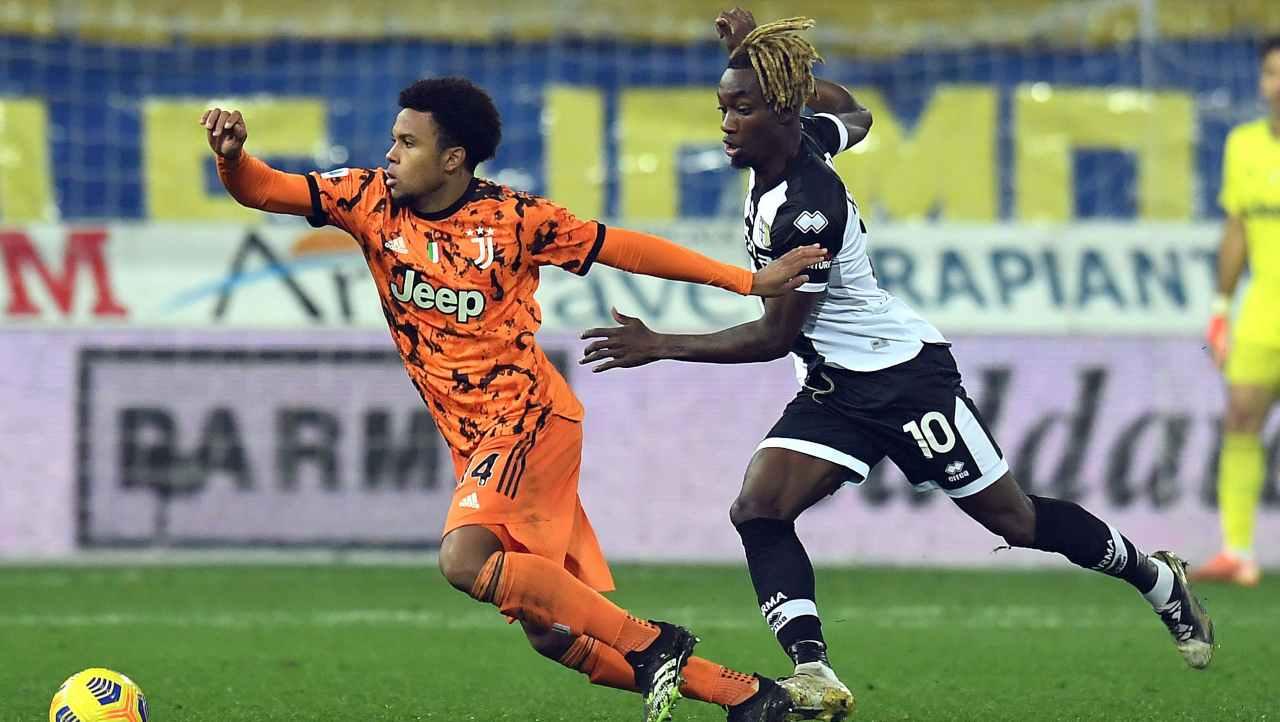 Serie A, Juventus-Parma: probabili formazioni e statistiche