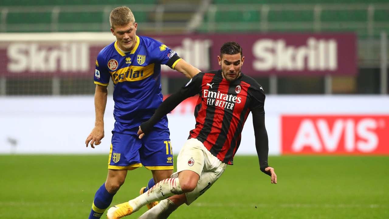Parma-Milan, le probabili formazioni (foto Getty)