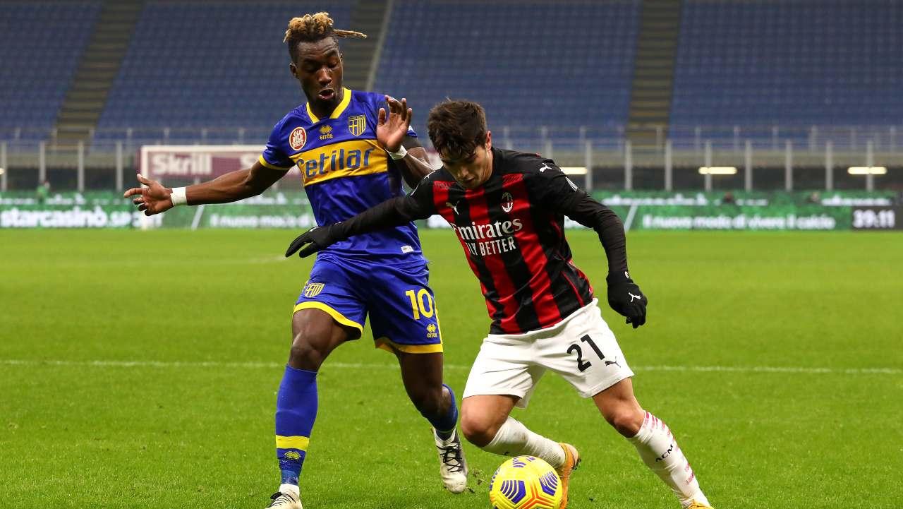 Serie A, Parma-Milan: probabili formazioni e statistiche (foto Getty)
