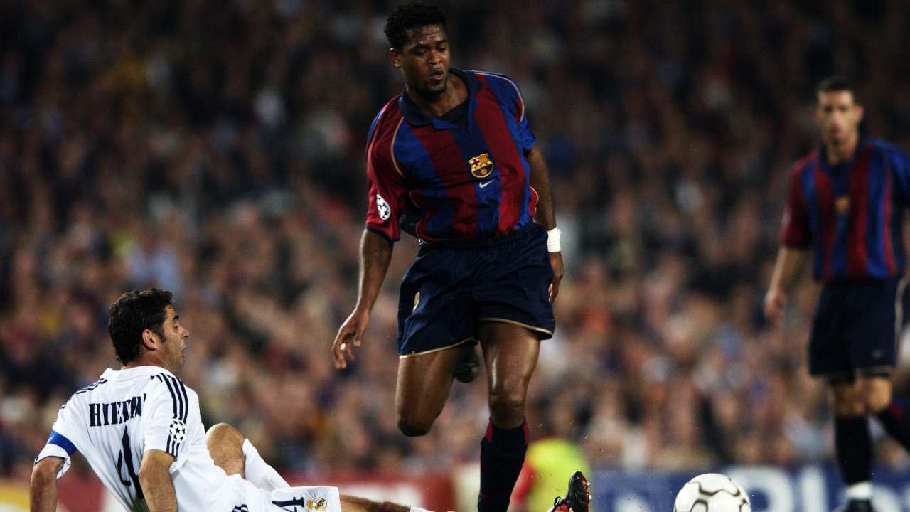Kluivert e i ricordi di Real Madrid-Barcellona