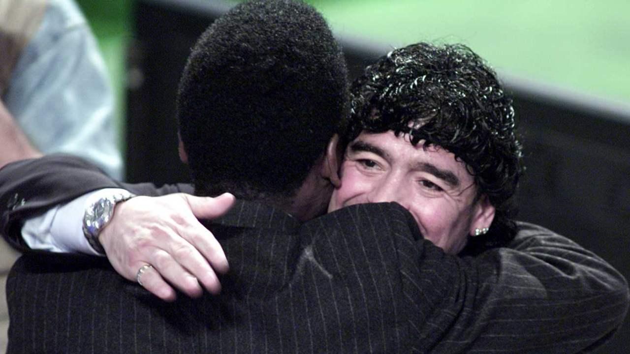 """Pelé ricorda Maradona a Che Tempo che Fa: """"Quando ci incontravamo..."""""""