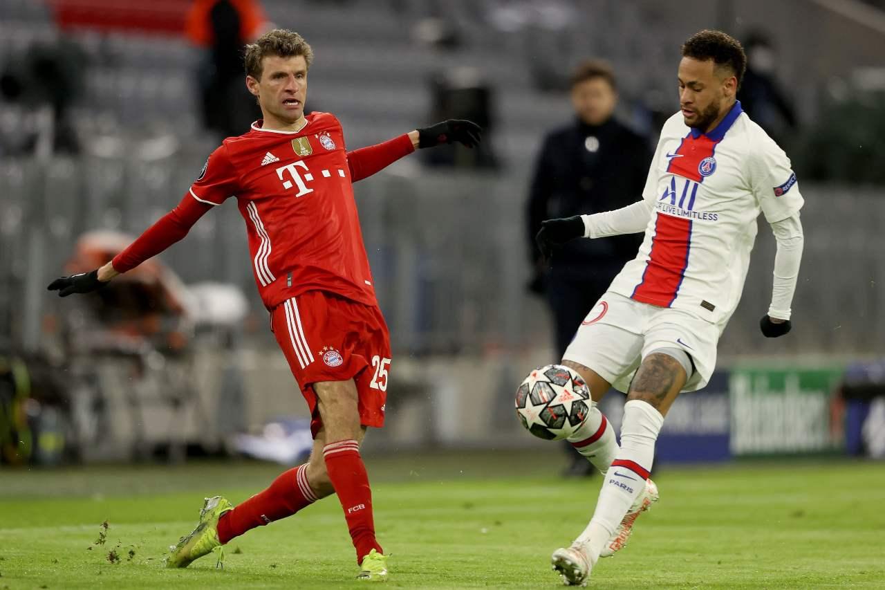 Champions League, PSG Bayern Monaco: probabili formazioni e statistiche