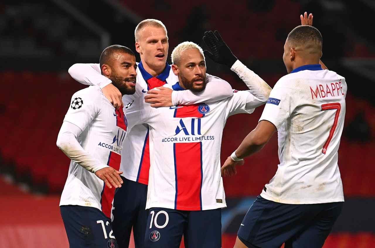 Bayern Monaco PSG formazioni