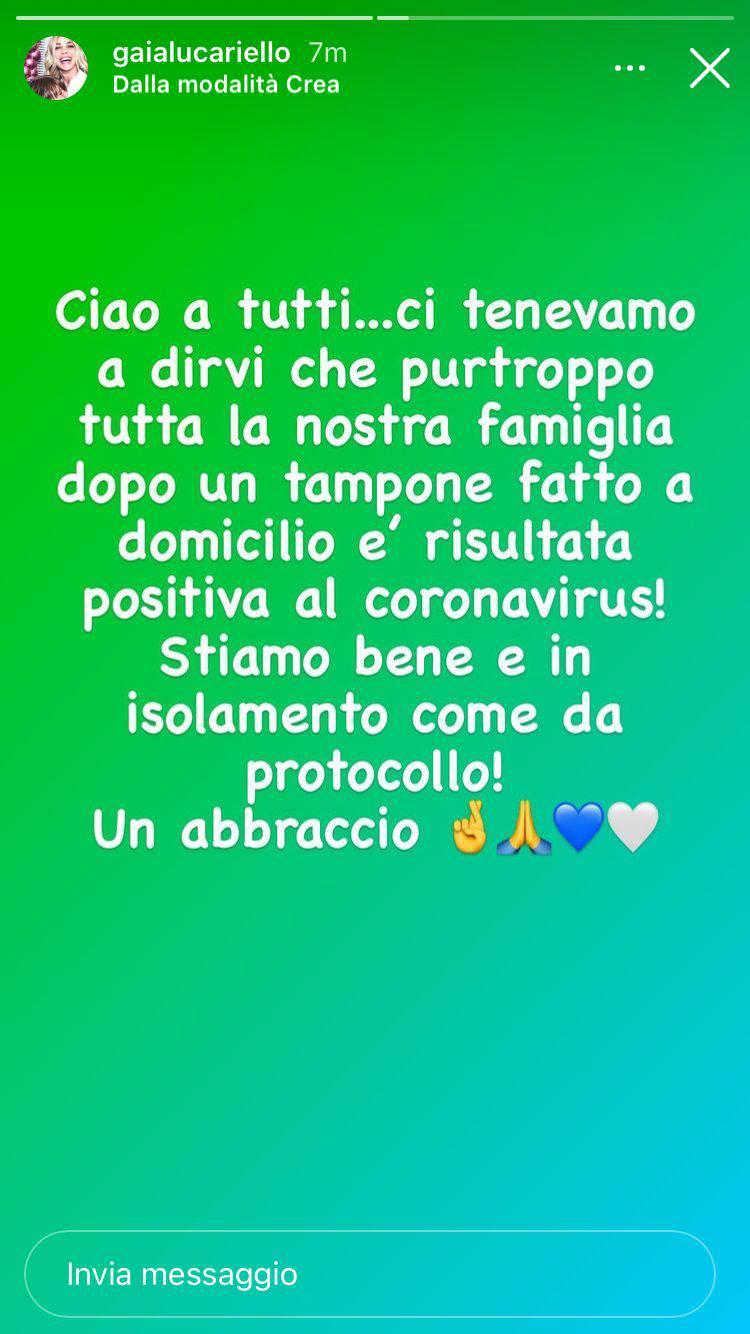 Simone Inzaghi Lazio Covid: l'annuncio della moglie su Instagram
