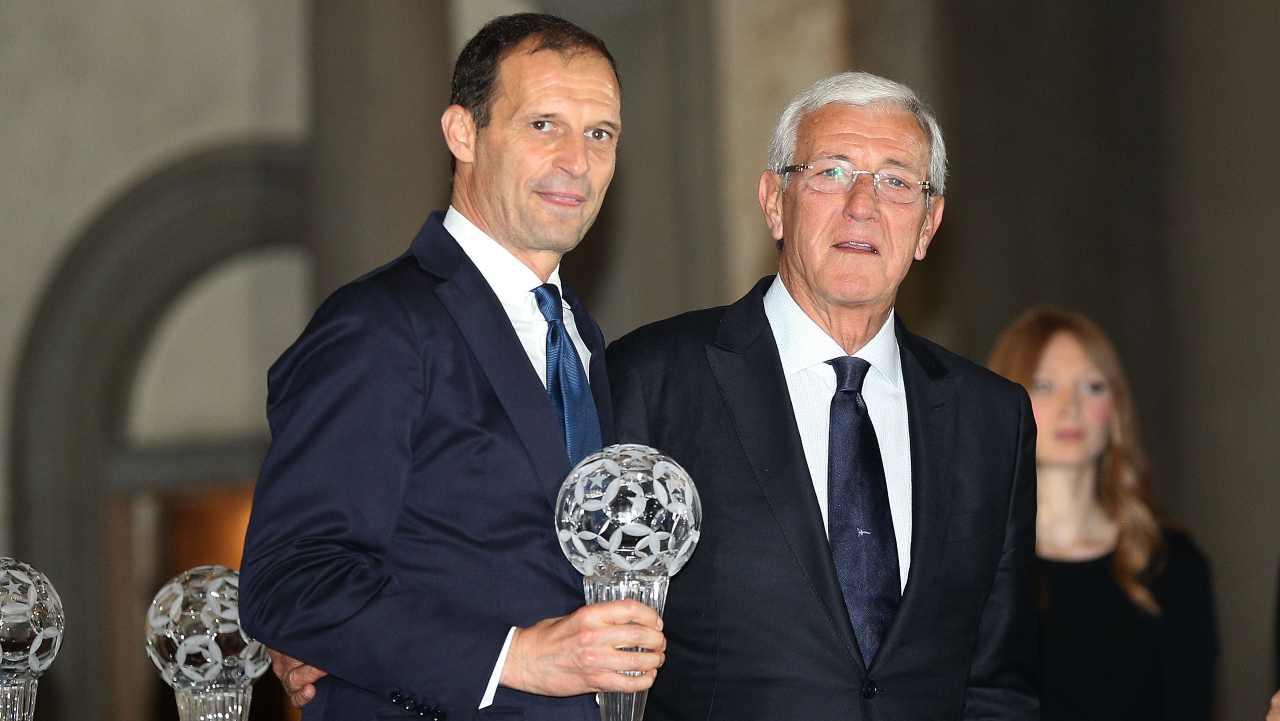 Massimiliano Allegri ritorna alla Juventus come Marcello Lippi
