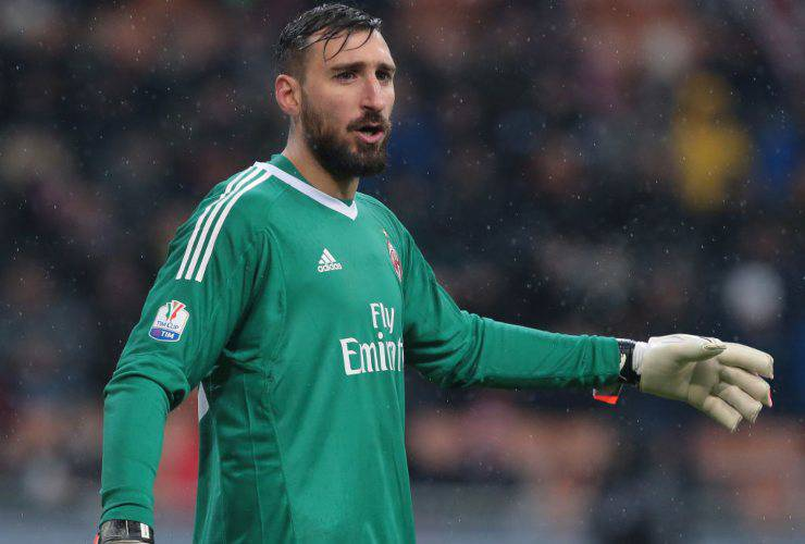 Antonio Donnarumma portiere Milan