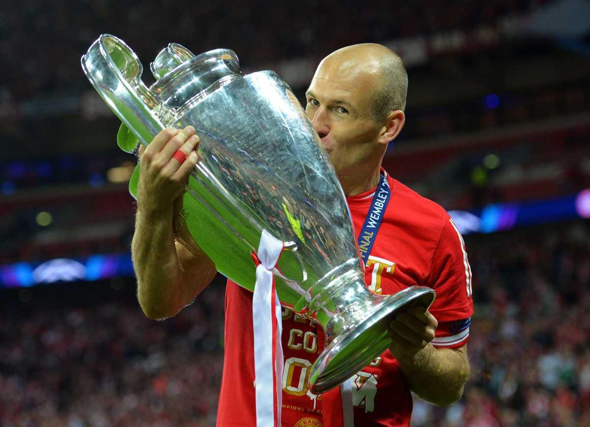Arjen Robben Champions League