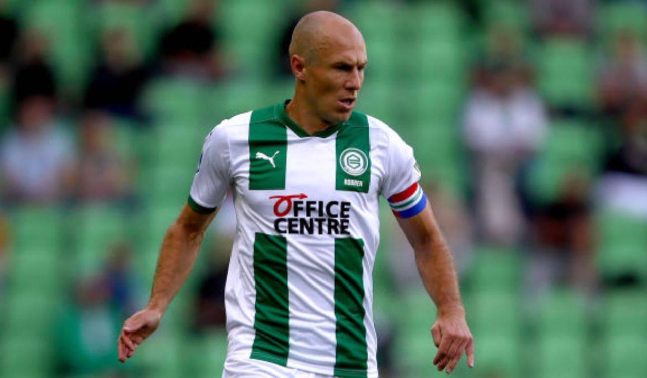 Arjen Robben lacrime
