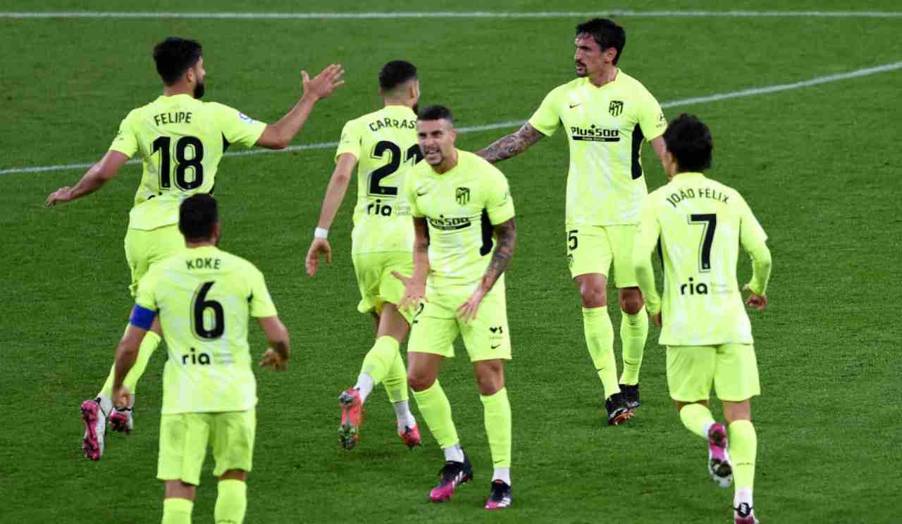 Elche Atletico Madrid formazioni