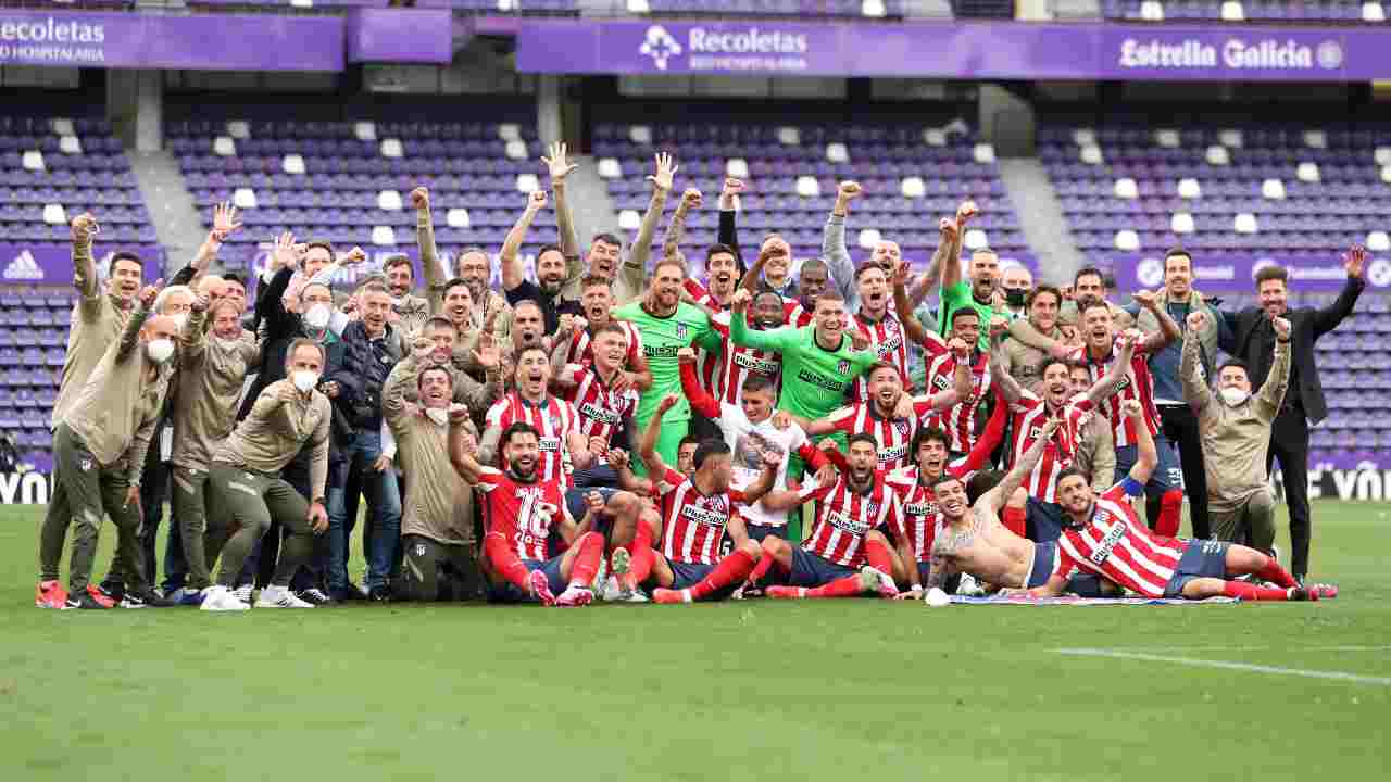 Atletico Madrid campione