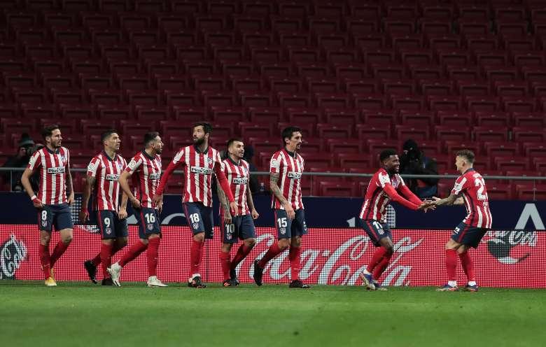 Atletico madrid Valladolid formazioni