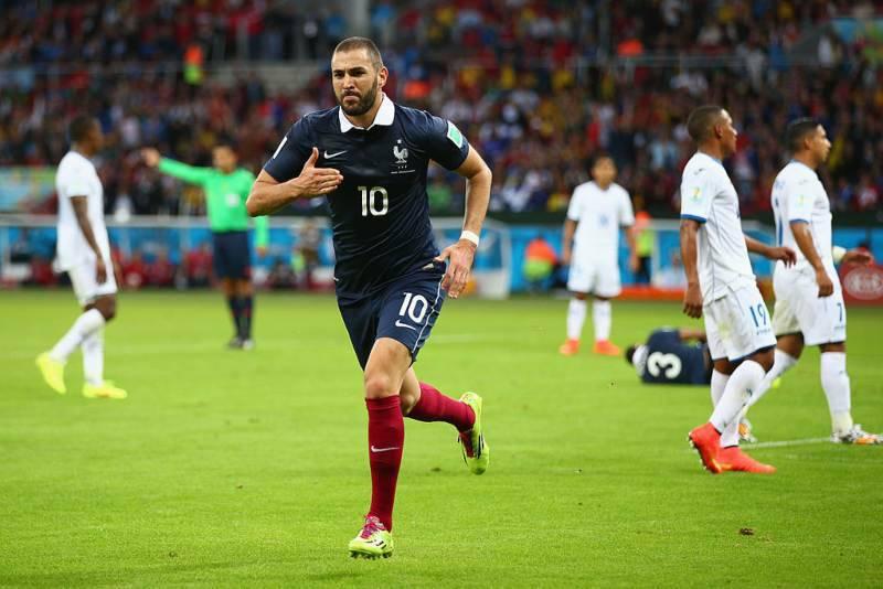Benzema, l'ultima partita con la Francia