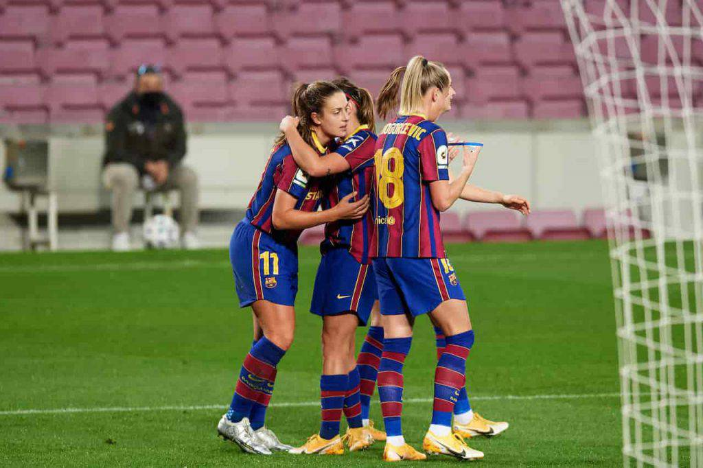 Barcellona femminile vince Champions League (Getty Images)