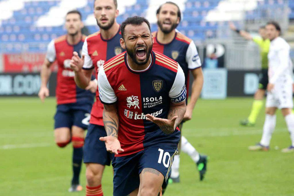 Benevento Cagliari Joao Pedro (Getty Images)