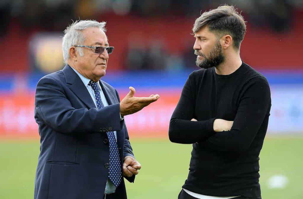 Benevento Vigorito duro con la squadra (Getty Images)