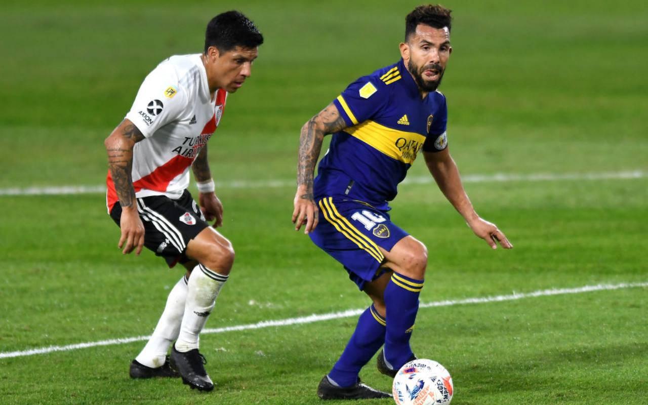 Boca Juniors River Plate Tevez